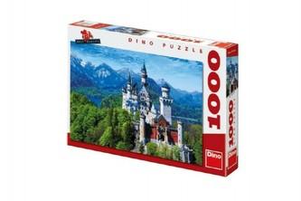 Puzzle Neuschweinstein 66x47cm 1000dílků v krabici 37x27x5cm