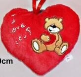 Srdce medvídek 15cm