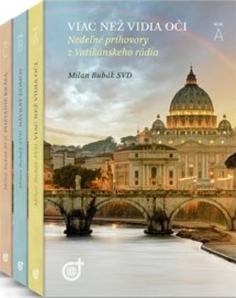 Nedeľné príhovory z Vatikánskeho rádia (kolekcia 3 kníh)