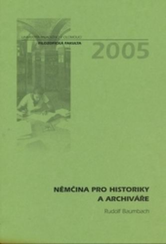 Němčina pro historiky a archiváře 2.vydání