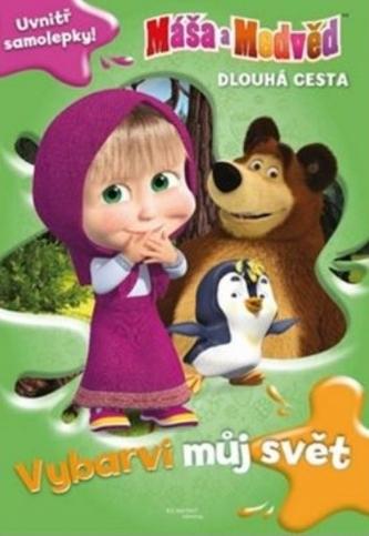 Máša a medvěd Dlouhá cesta Vybarvi můj svět