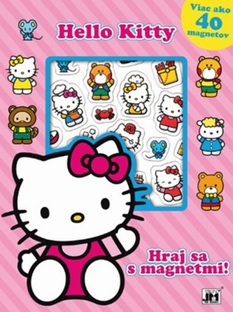 Hraj sa s magnetmi Hello Kitty