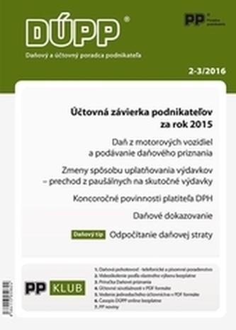 Daňový a účtovný poradca podnikateľa 2,3-2016