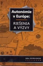 Autonómie v Európe: Riešenia a výzvy