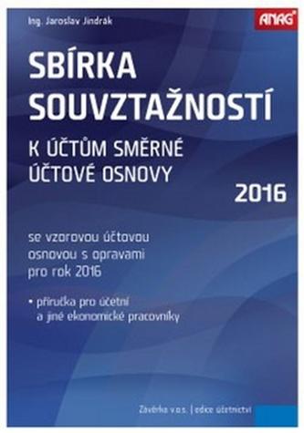 Sbírka souvztažností k účtům 2016