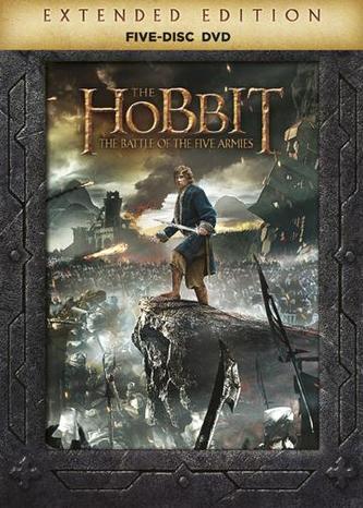 Hobit: Bitva pěti armád - prodloužená verze 5 DVD