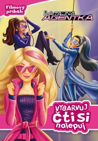Barbie Tajná agentka - Filmový příběh - Vybarvuj, čti si, nalepuj
