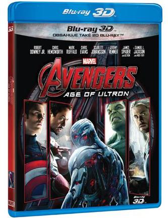 Avengers: Age of Ultron (2 Blu-ray 3D+2D)