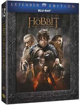 Hobit: Bitva pěti armád - prodloužená verze (3 Blu-ray)