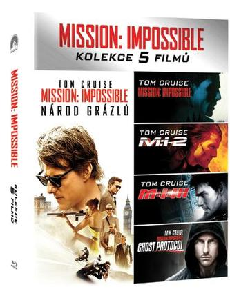 Mission: Impossible kolekce 1-5 (Blu-ray)