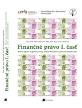 Finančné právo I. časť