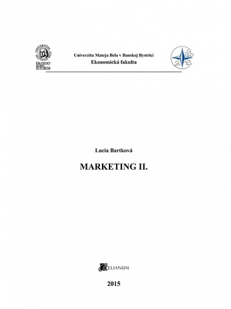 Marketing II.
