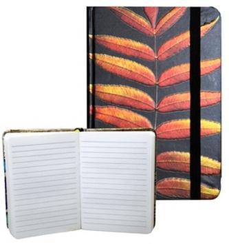 Zápisník s gumičkou 95x140 mm černý s listy A