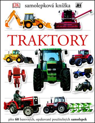 Traktory - Samolepková knížka - neuveden