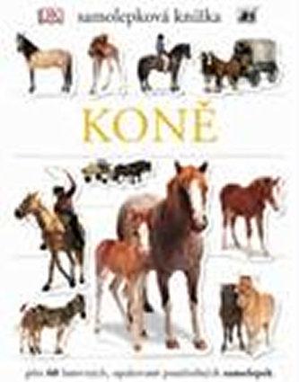 Koně - Samolepková knížka - neuveden