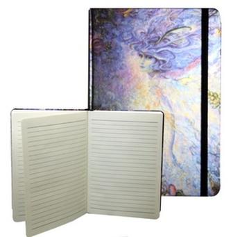 Zápisník s gumičkou A5 145x210 mm abstraktní obloha D
