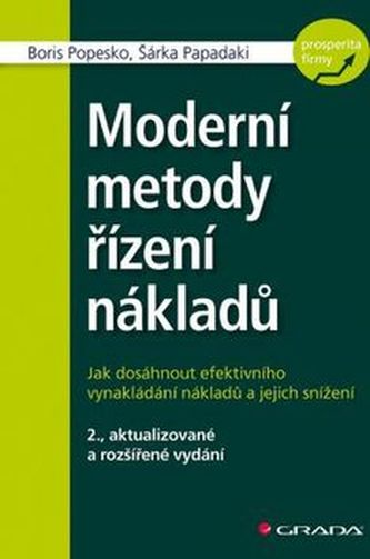 Moderní metody řízení nákladů - Boris Popesko