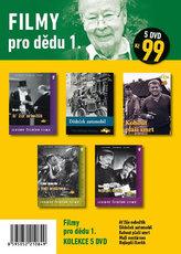 Filmy pro dědu 1. – 5 DVD