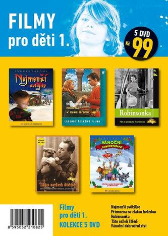 Filmy pro děti 1. – 5 DVD - neuveden