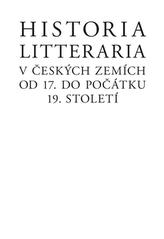 Historia litteraria v českých zemích od 17. do počátku 19. století