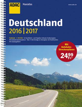 ADAC Maxiatlas Deutschland 2016/2017 1:150 000