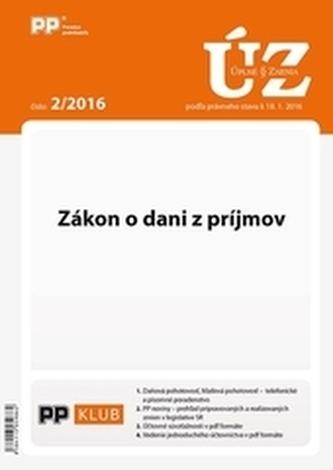 UZZ 2/2016 Zákon o dani z príjmov
