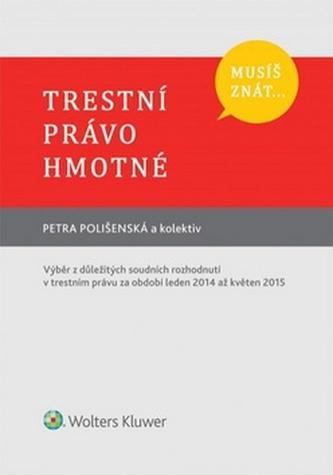 Musíš znát... Trestní právo hmotné - Petra Polišenská