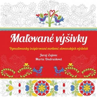 Maľované výšivky-Vymaľovanky inšpirované motívmi slovenských výšiviek