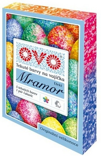 Barvy na vajíčka OVO Efekt MRAMOR 5x5ml