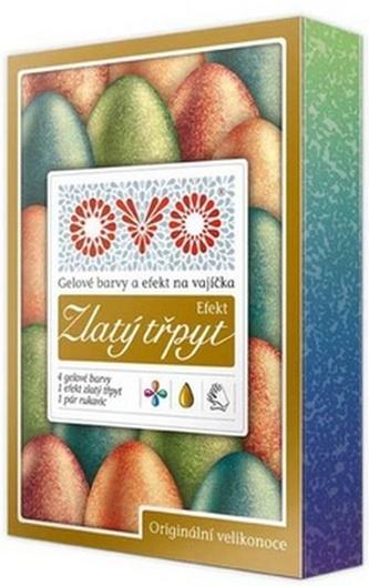 Barvy na vajíčka OVO Efekt ZLATÝ TŘPYT 5x5ml