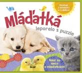 Mláďatká - leporelo s puzzle