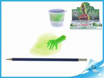 Sliz Zombie s rukou v kelímku