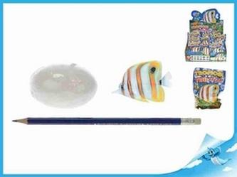 Tropická rybka ve vajíčku rozpustném ve vodě