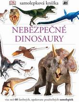 Samolepková knižka. Nebezpečné dinosaury