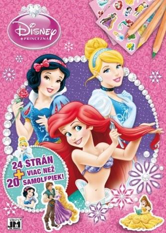 Princezná - 24strán + viac než 20 samolepiek! A4