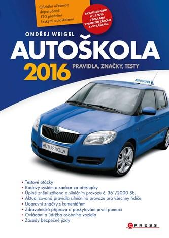 Autoškola 2016 - Náhled učebnice