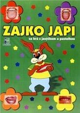 Zajko Japi sa hrá s jazýčkom a pastelkou