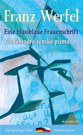 Bleděmodré ženské písmo / Blassblaue Frauenschrift