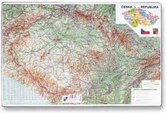 Podložka na stůl 40x60cm, mapa České republikz