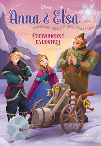 Anna & Elsa Podivuhodný ľadostroj