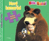 Máša a medvěd - Nový kamarád (kniha s puzzle)