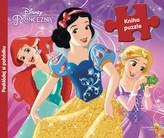 Princezny (kniha s puzzle)