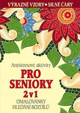 Antistresové aktivity pro seniory 2 v 1 - Omalovánky, hledání rozdílů