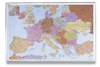 Podložka na stůl 40x60cm, mapa Evropy