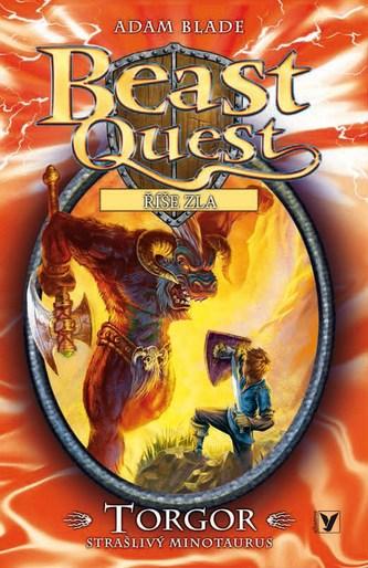 Torgor, strašlivý minotaurus - Beast Quest (13)