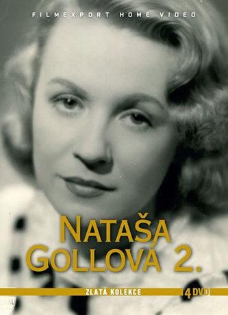 Nataša Gollová 2 - Zlatá kolekce - 4 DVD