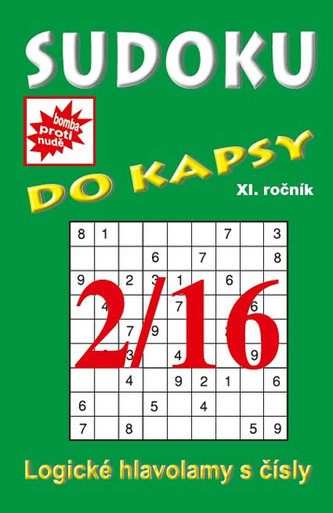 Sudoku do kapsy 2/2016 (zelená)