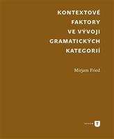 Kontextové faktory ve vývoji gramatických kategorií