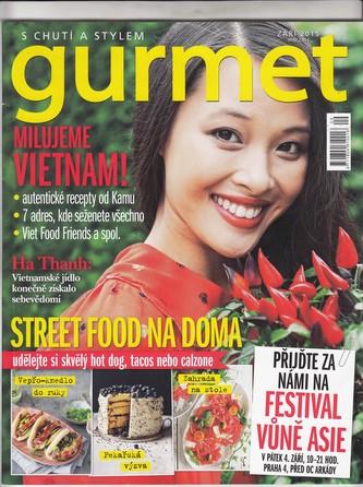 Časopis Gurmet - vzorové číslo
