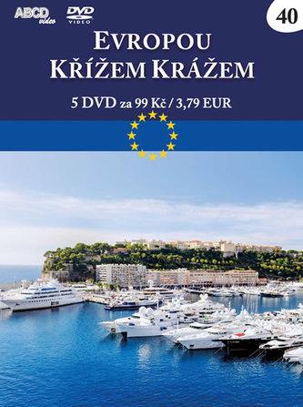 Evropou křížem krážem 2 - 5 DVD - neuveden